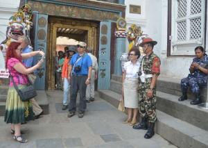 Tourist-At-Basantapur