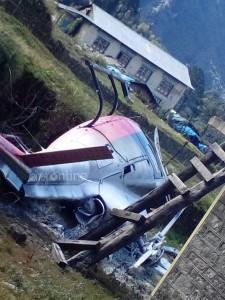helicopter-crash-at-lukla 2