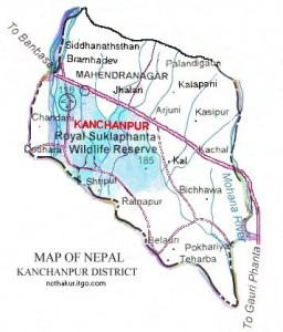 kanchanpur_district_map