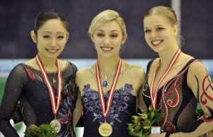 Miki Ando, Courtney Hicks, Anita Madsen