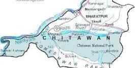 chitwan map