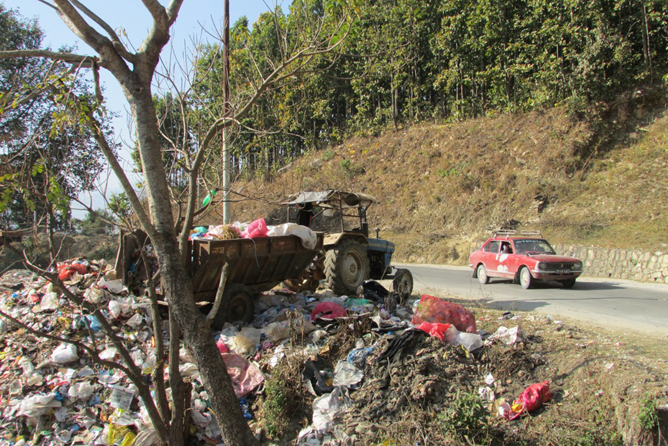 RBT-baglung-Dumping Site