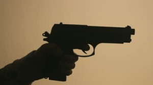 gun firing