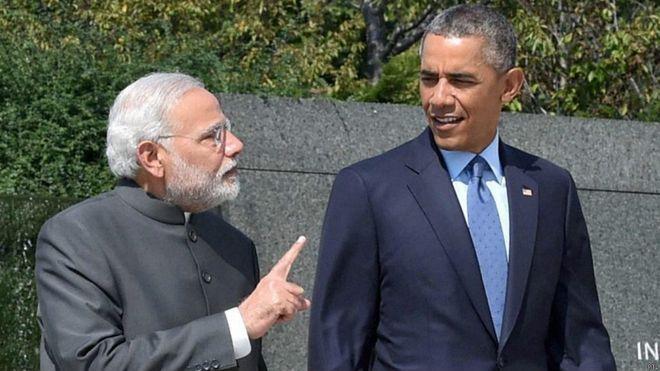 Modi with Obama