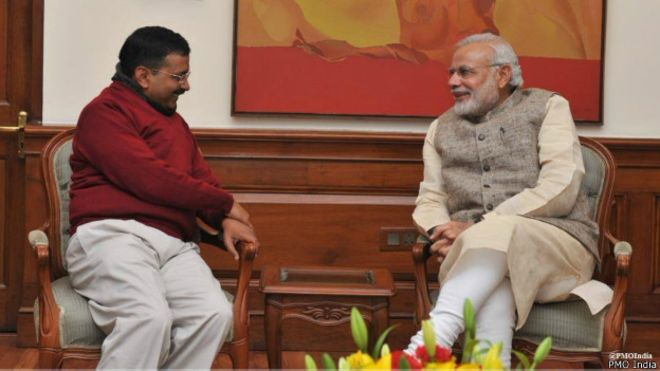Modi and Kejari