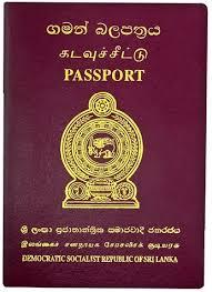 pass port shrilanka