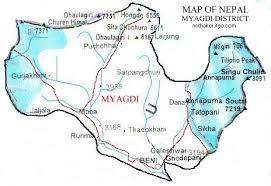 myagdi map
