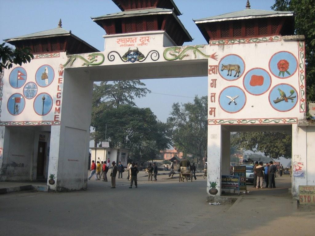 Mechinagar-Bhansar-border-of-Nepal-and-India