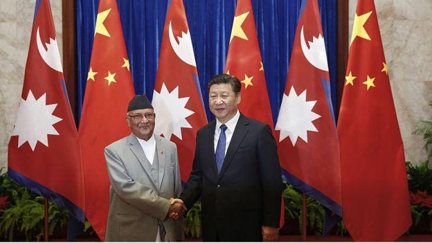 Image result for ओली र चीन को सम्बन्ध